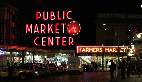 Pike PLace Market night