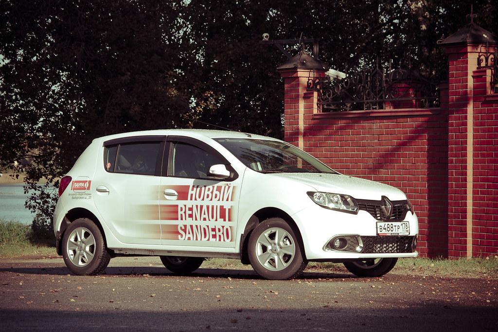 Renault Sandero test drive