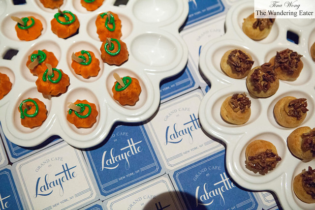 Fall inspired cream puffs by Lafayette's Jennifer Yee