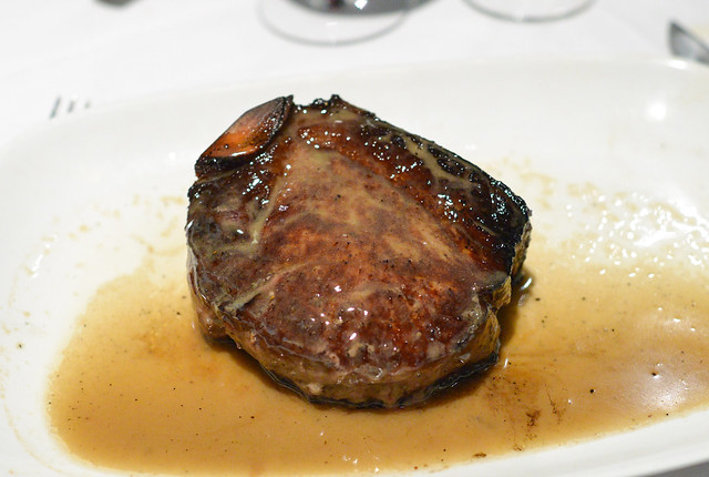 the big bone-in (osso) filet mignon(16 oz.)