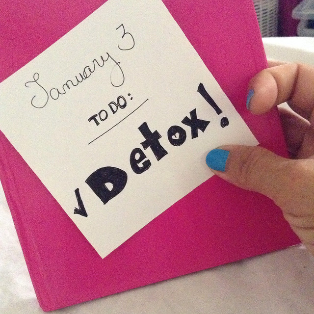 My 7 days Detox plan