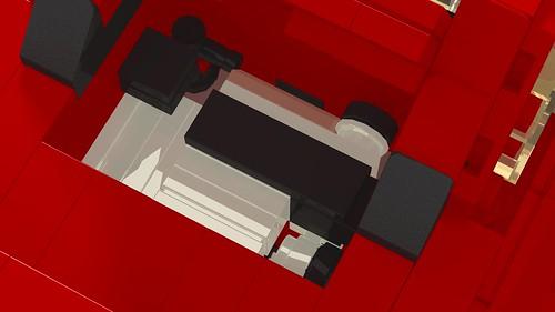 Toyota MR2 Mk1 engine compartment