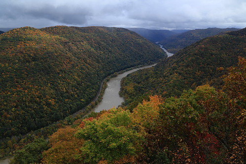 autumn fall canon landscape eos fallcolors scenic canyon fallfoliage westvirginia grandview overlook 6d newrivergorge nationalriver