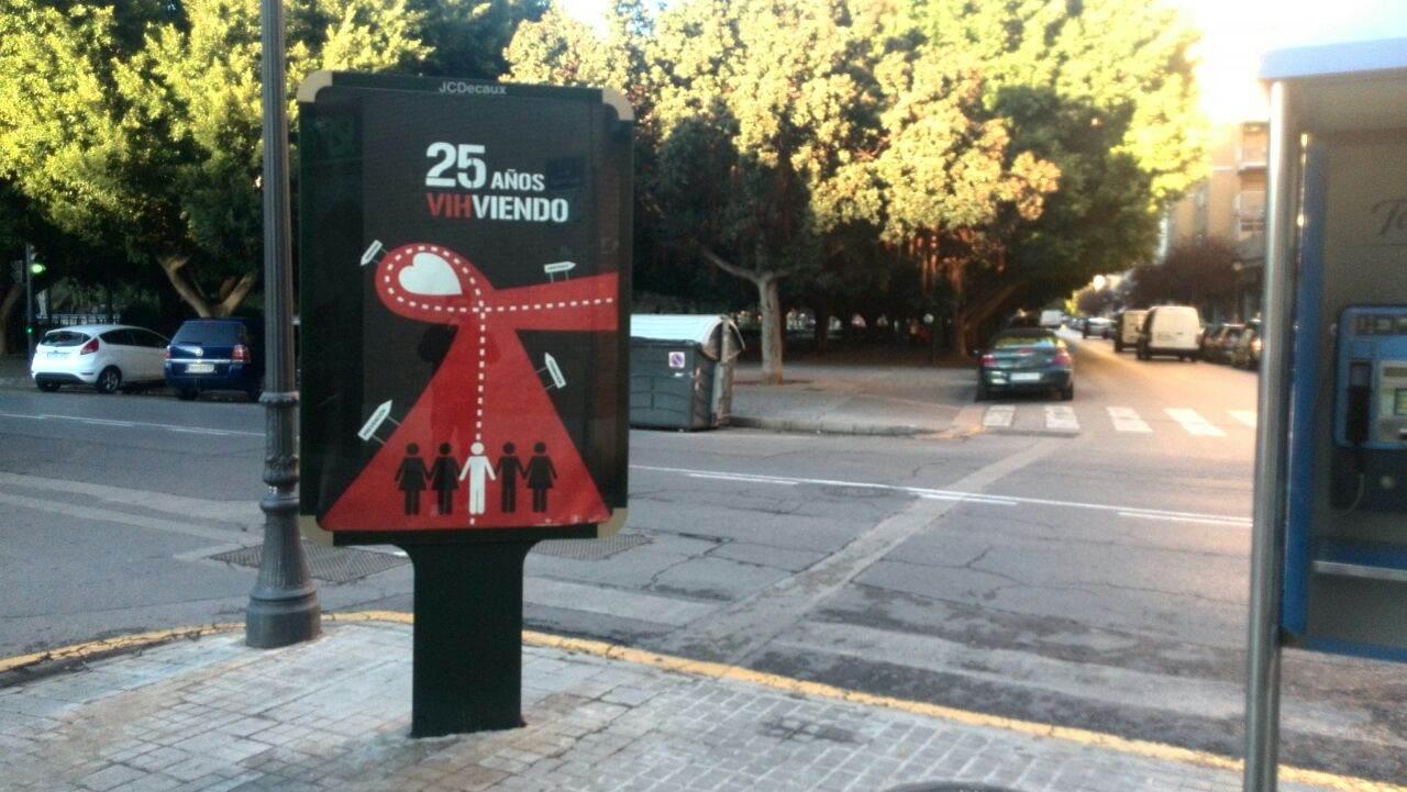 03-cartel aniversario 25 años sontra el sida