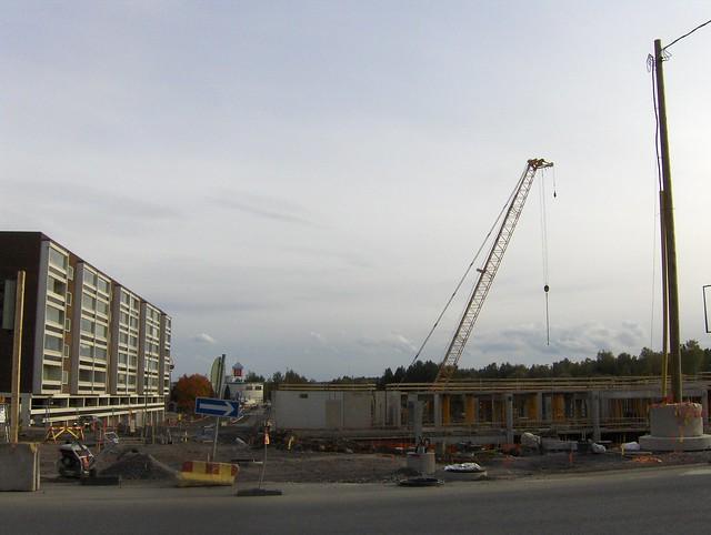 Hämeenlinnan moottoritiekate ja Goodman-kauppakeskus: Työmaatilanne 22.9.2012 - kuva 2