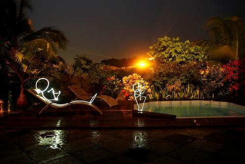 Light Painting Gwada