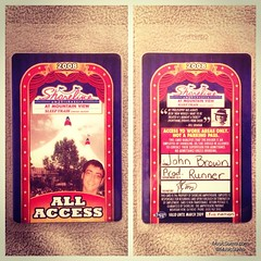 Shoreline All Access Pass 2008 #tbt #throwback #throwbackthursday #musicsumo