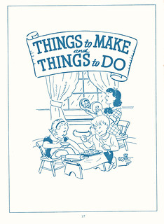 Things to Make and Things to Do