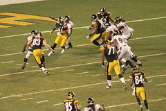 The Steelers vs the Ravens