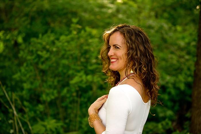 Alyson Simms Yoga Teacher Blue Osa