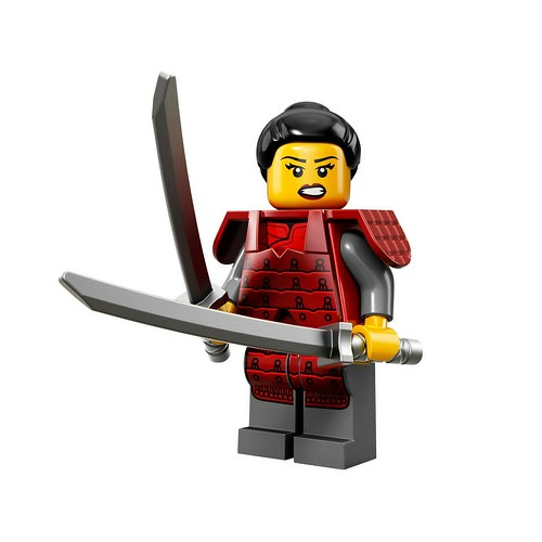 71008 Collectable Minifigures Series 13 Samurai