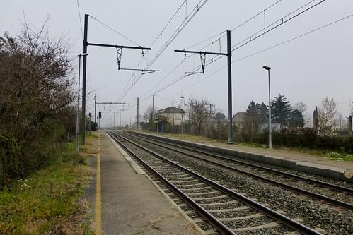 En gare de Chandieu - Toussieu
