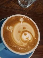 salep(0.0), espresso(1.0), cappuccino(1.0), flat white(1.0), cup(1.0), mocaccino(1.0), cortado(1.0), coffee milk(1.0), caf㩠au lait(1.0), food(1.0), coffee(1.0), ristretto(1.0), caff㨠macchiato(1.0), drink(1.0), latte(1.0), caffeine(1.0),