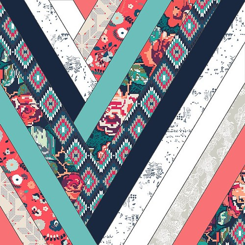 Thinking about some sew-along with this block....anyone interested? I would make the free PDF template on my blog with a few versions? #recollectionfabrics #quilt #strips #xmas