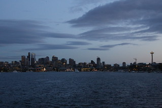 View from Gas works park.  Seattle, Washington.