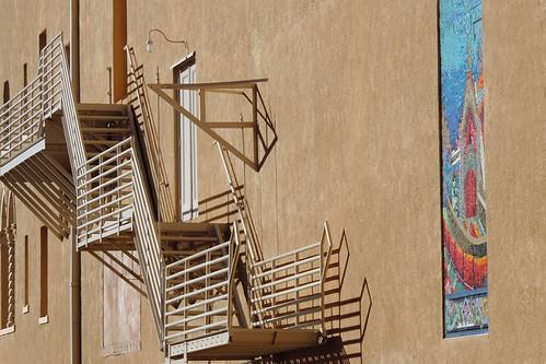 usa newmexico santafe architecture buildings roadtrip streetviews