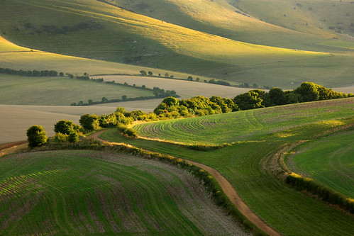 landscape sussex scenery brighton farm hills southdowns lewes kingstonridge