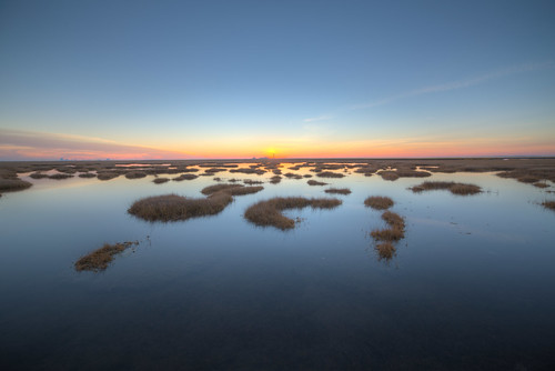 blue sunset water dusk estuary hdr saltmarsh 2014 fishfactory canon6d greatbayblvdwma rokinon14mm