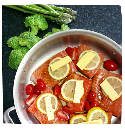 Blog Archive » Simple Baked Salmon with Lemon and Butter