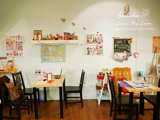 台北師大夜市下午茶咖啡館推薦紙飛機cafe (8)