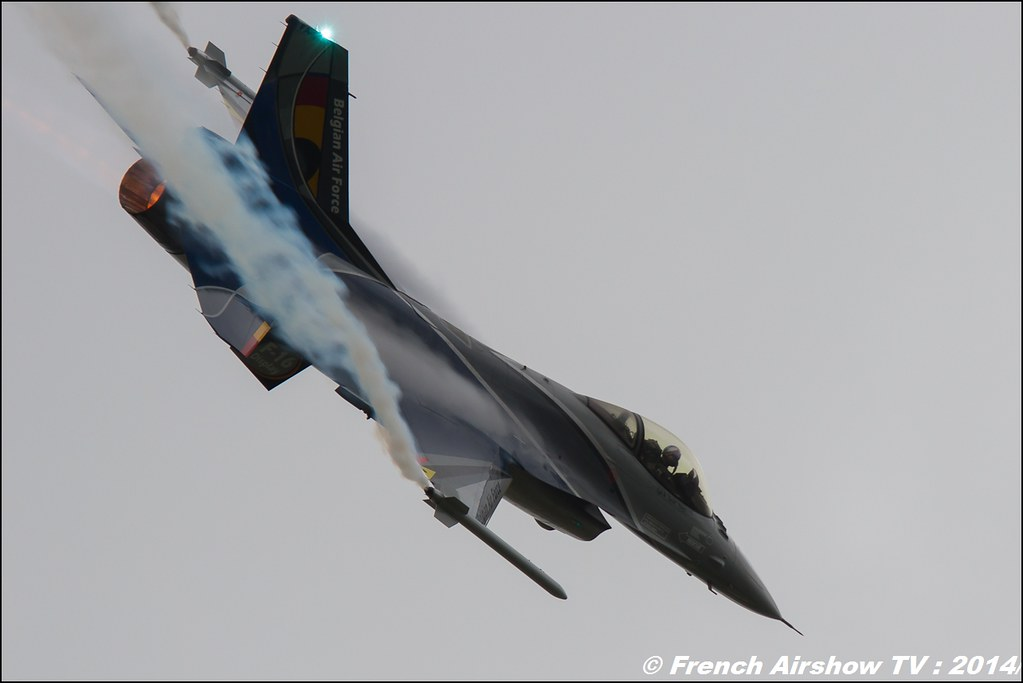 Belgian F16 Solo Display Team 2014 ,Royal International Air Tattoo 2014