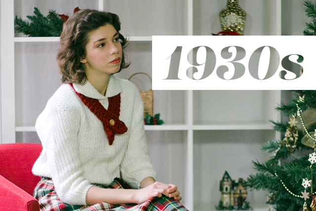 How We Wear Vintage for the Holidays // 1930s