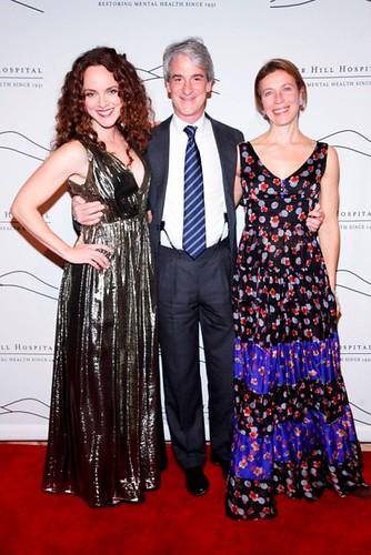 Melissa Errico, Todd Hollander, Natalia Bulgari==.2014 Silver Hill Hospital Gala==.Cipriani 42nd, NYC==.November 19, 2014==.©Patrick McMullan==.Photo- ADRIEL REBOH /PatrickMcMullan.com==.==