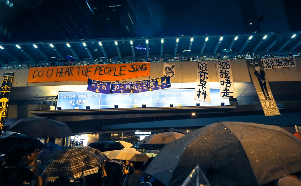 Umbrella movement - 0569