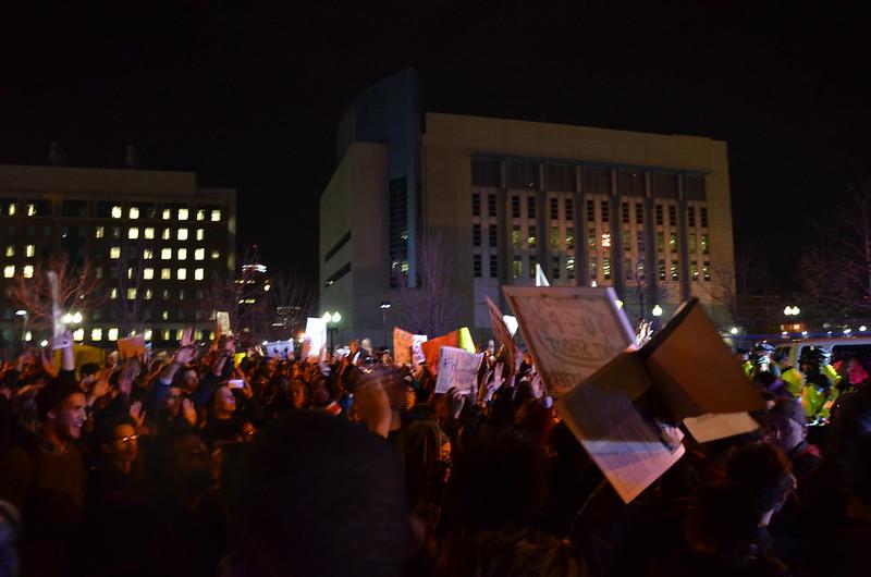 Black Lives Matter protest - Boston