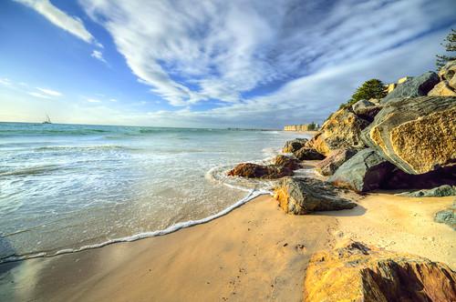 ocean beach st gulf south vincent australia adelaide sa southaustralia glenelg gulfstvincent glenelgsa glenelgaustralia