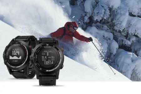 Garmin Fénix2 jsou GPS hodinky, které lyžařům změří 3D rychlost i ujeté kilometry