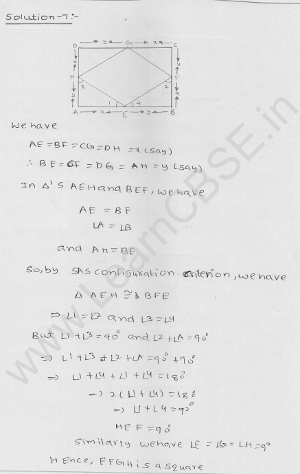 RD Sharma Class 9 Solutions Chapter 14 Quadrilaterals Ex 14.3 4