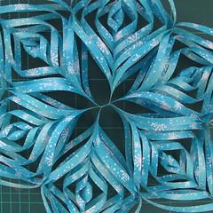 วิธีทำดาวกระดาษรุปเกล็ดหิมะ สำหรับแต่งบ้าน ช่วงเทศกาลต่างๆ (Paper Snowflake DIY) 020
