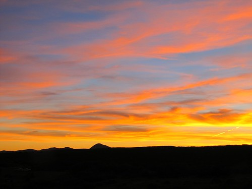 sunset sky clouds rural colorado dusk mesaverdenationalpark