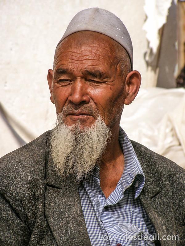 valle de fergana hombre kirguis