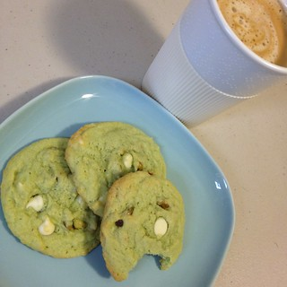 Pistachio Pudding Cookies 16