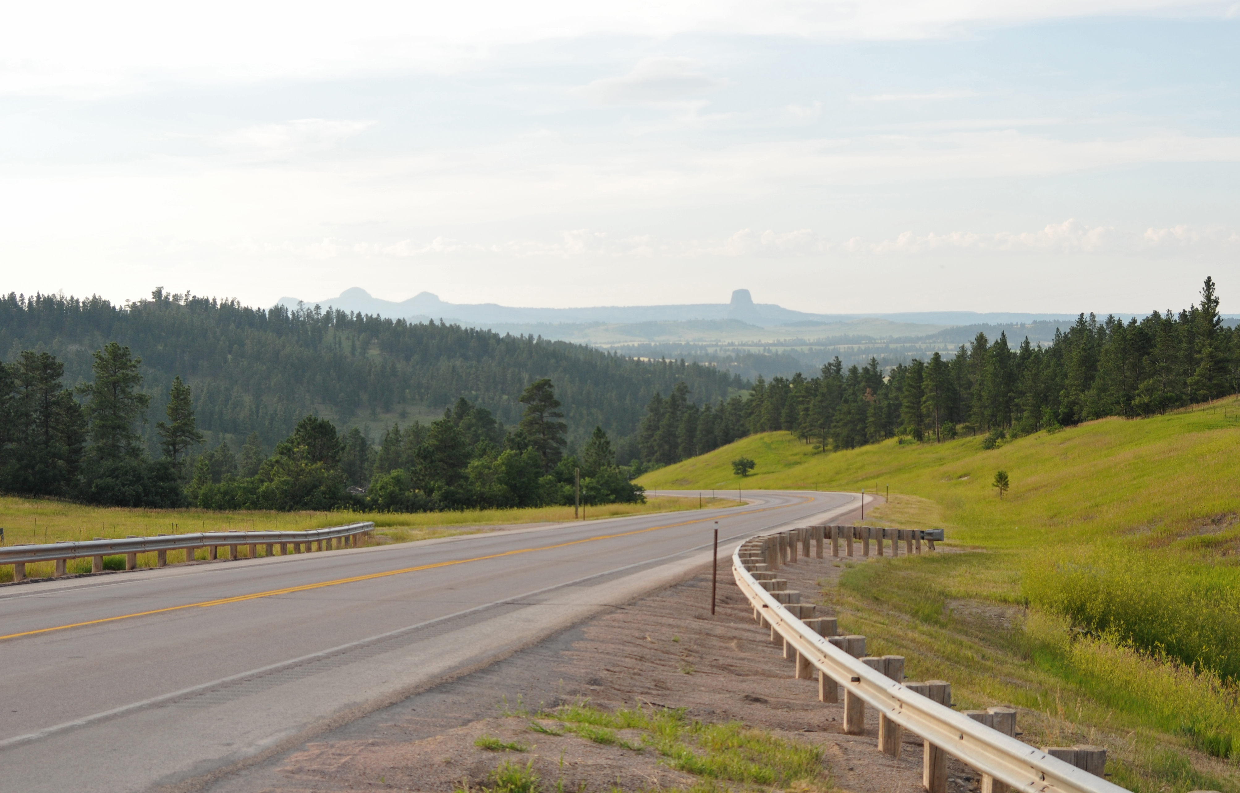 Elevation Of Bear Lodge Mountain Wyoming Usa