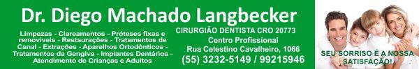 Dr. Diego Machado Langbecker - Cirurgião-Dentista