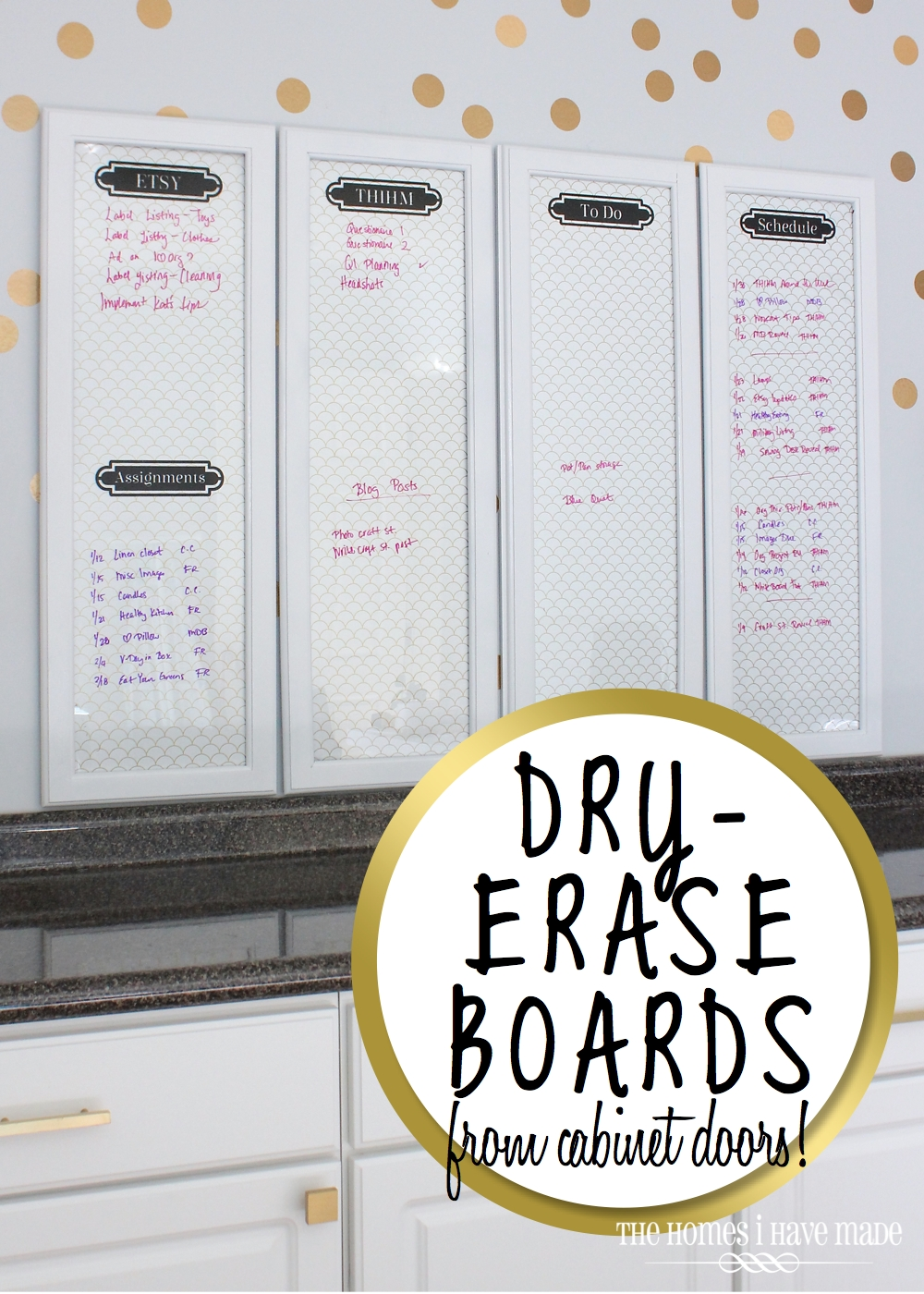Framed Dry Erase Boards 001