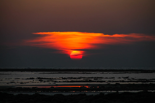 sunset red sea sky sun seascape art nature canon landscape boat raw tamron bangladesh waterscape bayofbengal