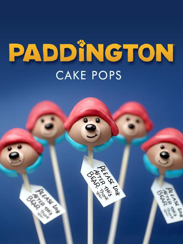 Paddington Cake Pops