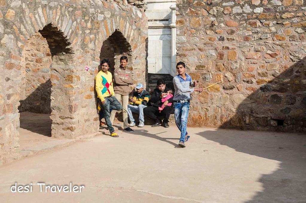 Gilli Danda Match Mehrauli Delhi