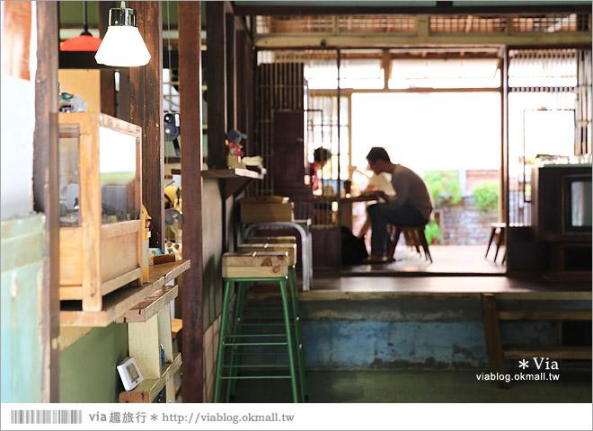 【台中老宅餐廳】台中下午茶~拾光機。日式老宅的迷人新風情,一起文青一下午吧!12