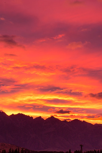 sunrise queenstown remarkables canon1635 canon6d