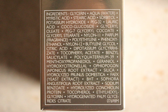 Guerlain Blanc de PERLE cleanser ingredients