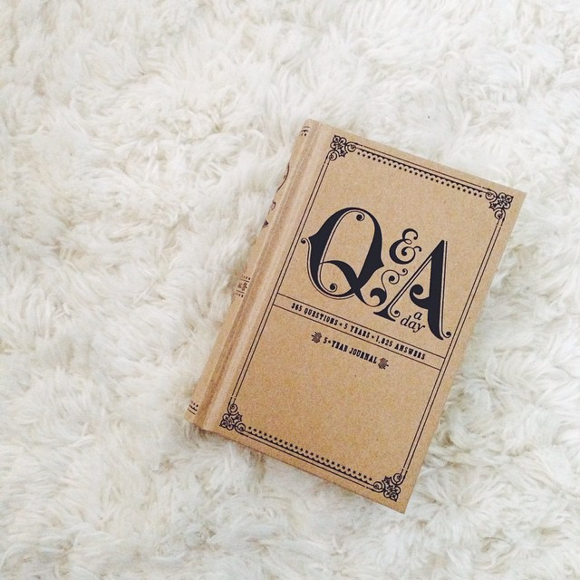 question a day journal book