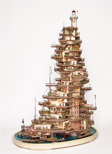 Takanori Aiba - 盆栽微型建築