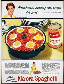 Kia-ora Spaghetti