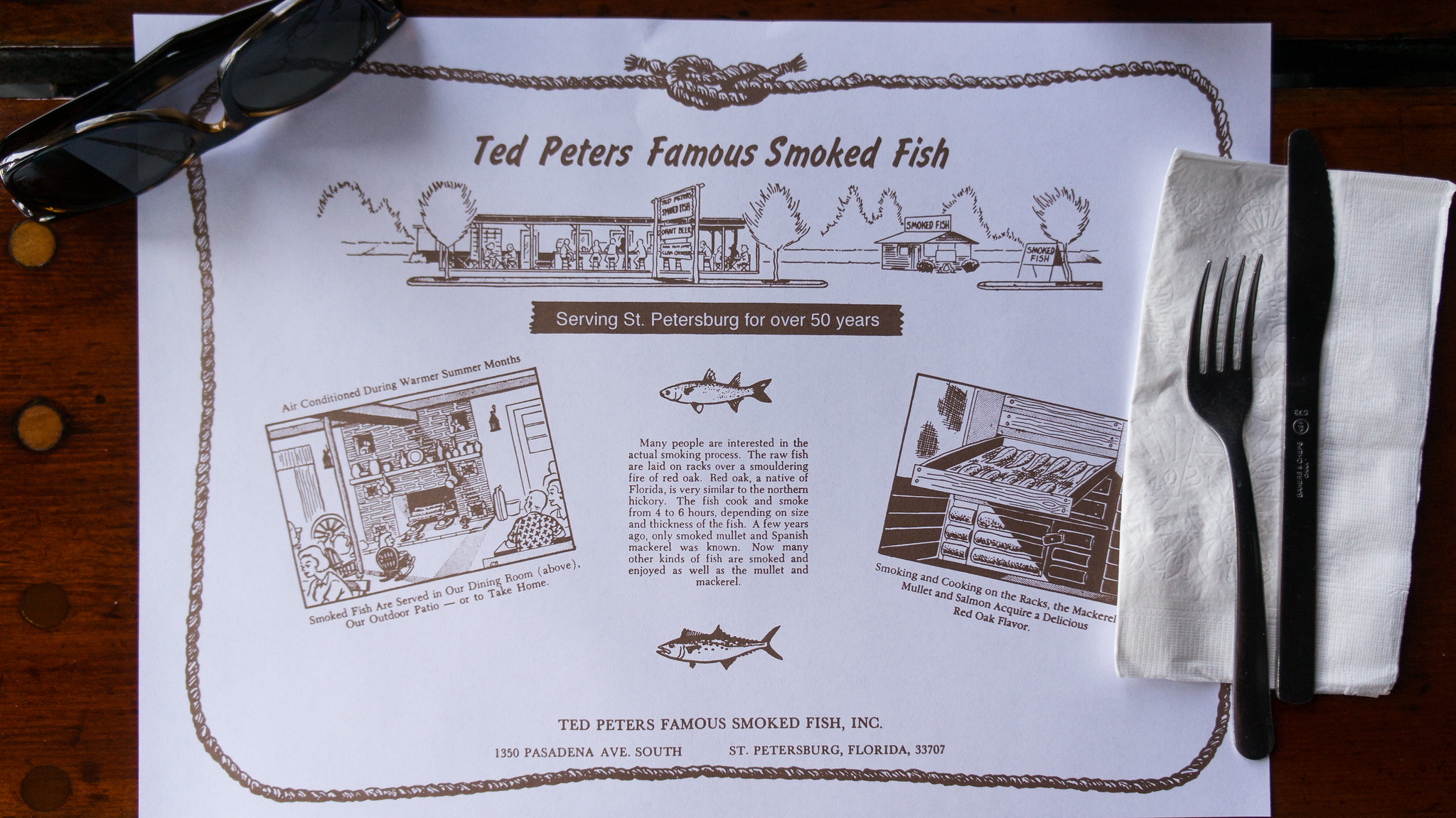 Food for thought a miami food blog a weekend of dining for Ted peters smoked fish