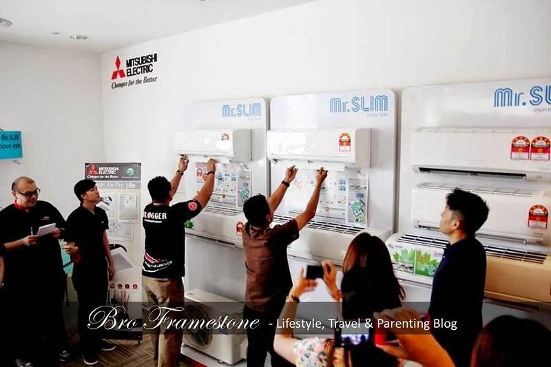 Penghawa Dingin Aircond Mitsubishi Eletric
